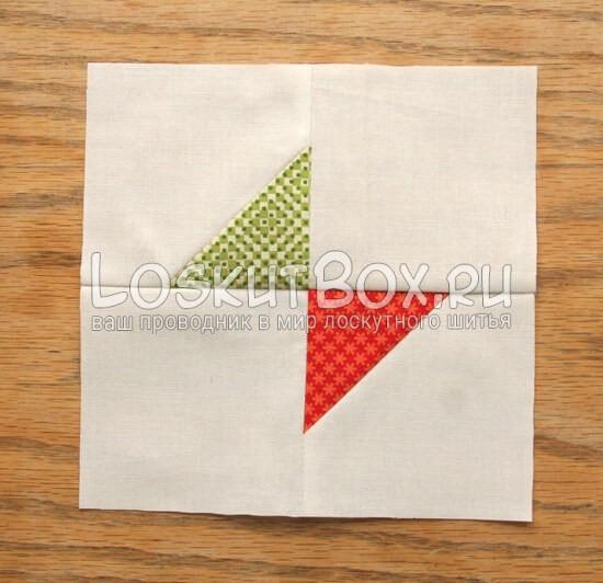 лоскутный блок галстук-бабочка (4)