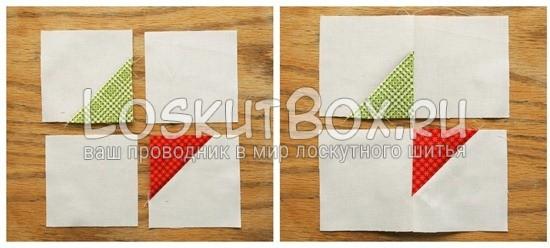 лоскутный блок галстук-бабочка (5)