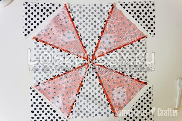 ЛОскутное одеяло Калейдоскоп (18)