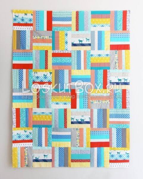 Scrappy-Strips-Quilt
