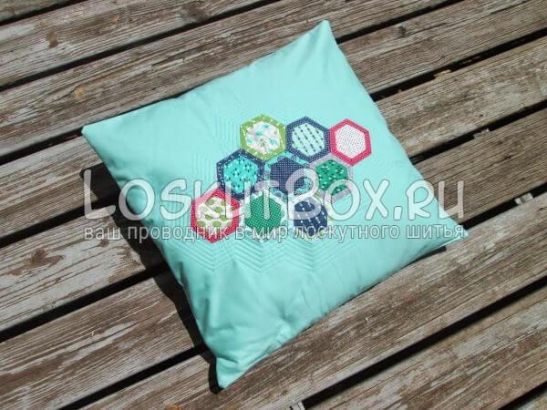 подушка с блоком