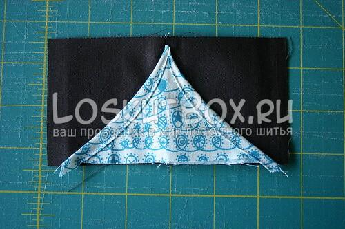 отстроченные края треугольника