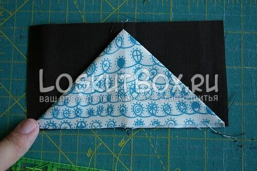 треугольник проутюжьте