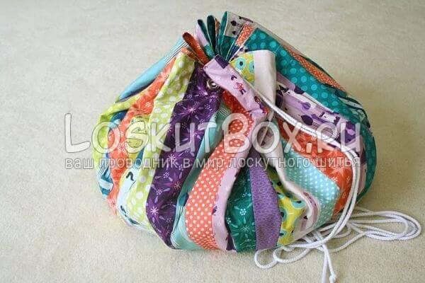 Коврик-сумка