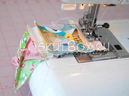 сшивание ленты