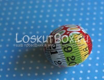 Пэчворк на кухне: пасхальные яйца из ткани