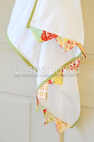 Декор для кухонного полотенца. 1