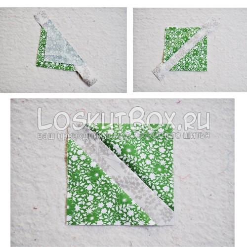 Треугольники подушка