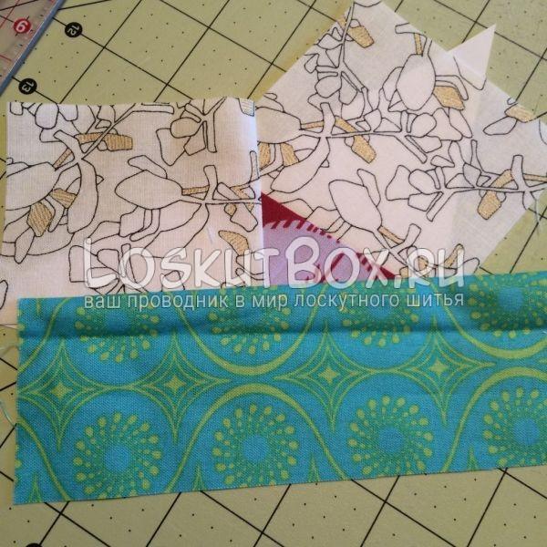 Детали А3 и А4. Лоскутная подушка