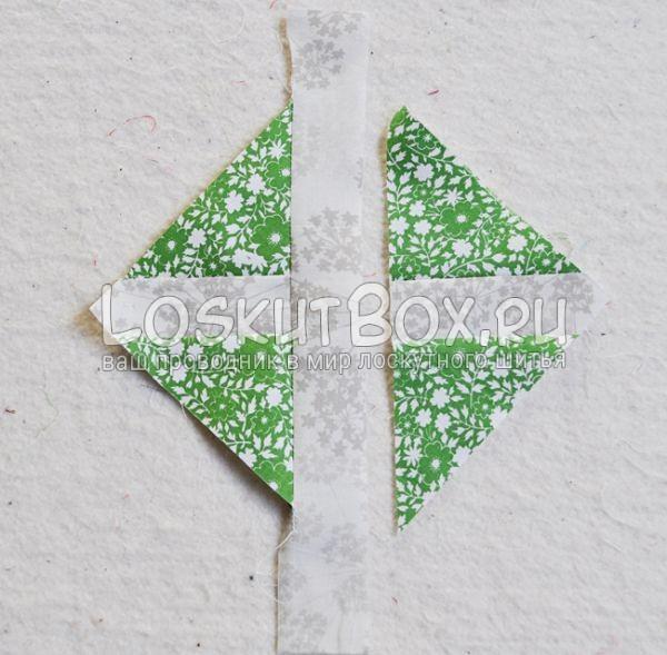 Квадрат из треугольников