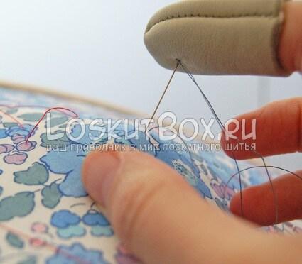 Техника стежки лоскутного одеяла