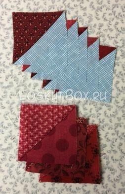 Заготовленные квадраты