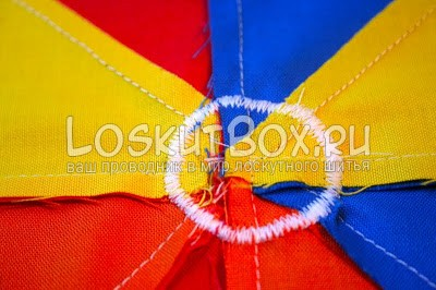 разноцветная ткань зигзаг