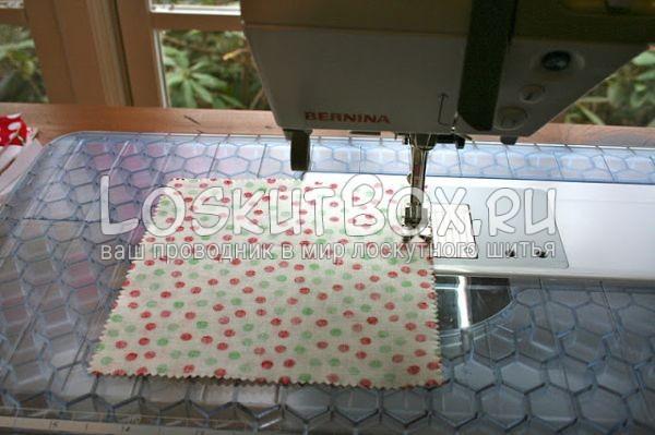 ткань швейная лапка