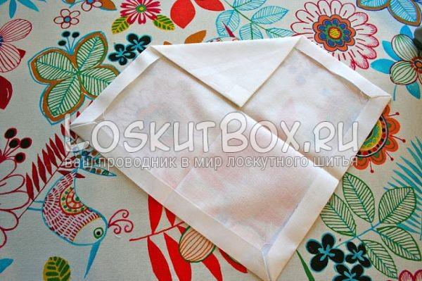 квадрат угол ткань