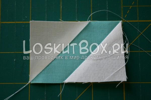 белый-голубой прямоугольник