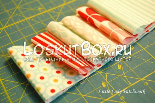 лоскутки для пошива салфетки