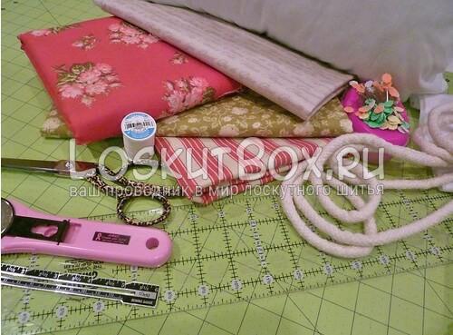 Материалы для шитья наволочки
